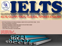 IELTS/CELPIP/CELBAN(10,9,8,7)/SPOKEN ENGLISH-HIGHEST BAND(5 -9)