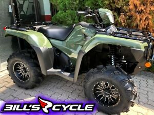 2018 Honda TRX 500 FA6J   Rubicon Auto IRS Green Powersteer