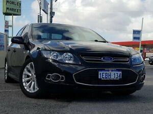 2012 Ford Falcon FG MkII G6 EcoBoost Black 6 Speed Sports Automatic Sedan