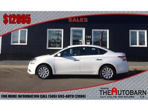 2014 NISSAN SENTRA - FULLY LOADED - BLUETOOTH - ONLY 65212kms