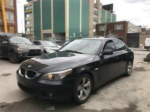 2007 BMW 550i Toit ouvrant, Cuir, Bluetooth, Mags