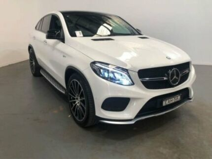 2017 Mercedes-Benz GLE43 C292 807MY AMG COUPE 9G-TRONIC 4MATIC White Steptronic Wagon Kooringal Wagga Wagga City Preview