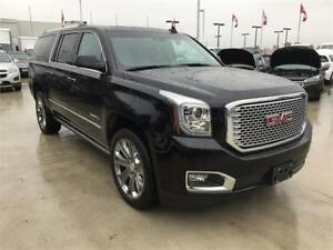 2016 GMC Yukon XL Denali (Black on Black) Mint Condition