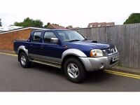 Nissan Navara 2.5 Di 4dr 2004 04 REG F.S.H 1 OWNER STARTS AND DRIVES, ENGINE KNOCKING ONLY 95K