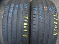225 40 18 Dunlop,Sp Sport Maxx GT,Extra Load,92Y x2 A Pair,6.1mm