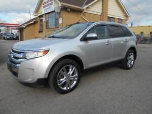 2013 FORD Edge SEL AWD 3.5L V6 Leather Panoramic Roof Navigation