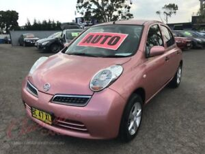 2009 Nissan Micra K12 Pink 4 Speed Automatic Hatchback Lansvale Liverpool Area Preview
