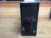 HP PRO 3300 MT Intel Core i3-2120 (2nd Gen) 3.30GHz 4GB RAM 250GB HDD Win 7 PC