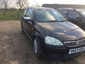 1.2 53 plate Vauxhall Corsa *very low mileage*