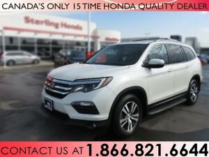 2016 Honda Pilot EX-L NAVIGATION | RUNNING BOARDS | HITCH | ALL