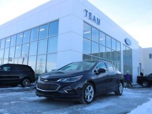 2017 Chevrolet Cruze PREMIER, ACCIDENT FREE, HEATED STEERING, BL
