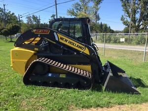 2016 New Holland C232 Compact Track Loader