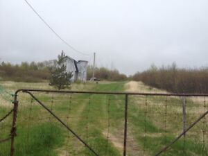 Partially developed residence on 5.35 Acres near Clarenville!