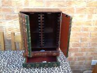 CD Cabinet - Antique look