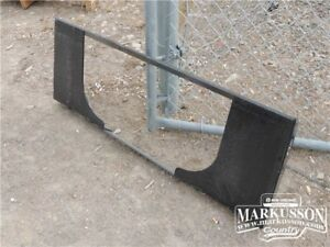 HLA Blank Universal Skid Steer Attachment Plate