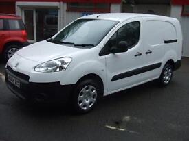 2014 64 Peugeot Partner 1.6HDi 92 Crew Cab Van S L2 Diesel LWB 5 Seater Seat Mpv
