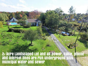 Own Acreage of Fruit Trees, Ponds, Pool and More In HRM