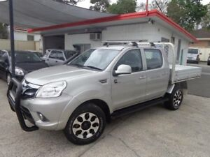 2013 Foton Tunland P201 Luxury (4x4) Silver 5 Speed Manual Dual Cab Utility Sylvania Sutherland Area Preview