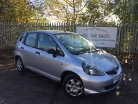 2005 Honda Jazz 1.2 I-DSI S 5dr. MOT to October 2017 with no Advisories