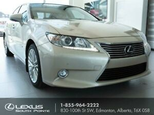 2015 Lexus ES 350 Executive w/ pre-collision system, lane dep...