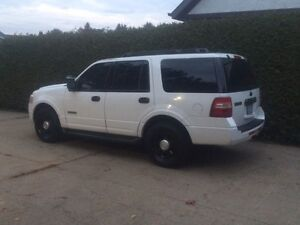 2008 Ford Expedition XLT SSV SUV, Ex Police Swap Trade