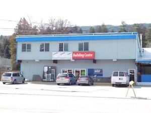2 Storey Retail & Warehousing Space - Castlegar, BC