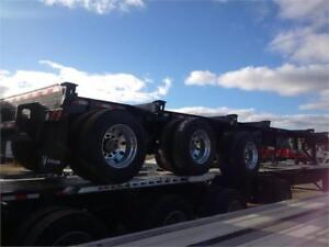 2018 Deloupe Tri axle Taper frame Log Trailer