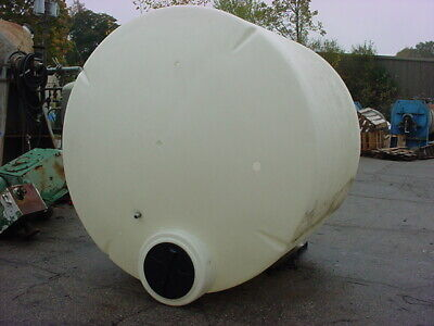 2500 Gallon Poly Storage Tank Snyder Industries Domed Top And Flat Bottom