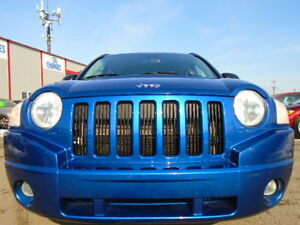2009 Jeep Compass SPORT--ONE OWNER---5 SPEED---ONLY 99,000KM