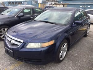 Acura TL,Premium,Auto,Loaded,Blue on black ,No rust,Safety!!!