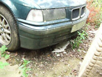 BMW COMPACT 318 320 E36 1.8TDS FRONT BUMPER Breaking for parts in GATWICK AREA