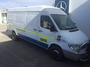 2004 Mercedes-Benz Sprinter 416CDI High Roof LWB White 5 Speed Manual Van Northbridge Perth City Area Preview