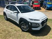 2018 Hyundai Kona OS Active (FWD) White 6 Speed Automatic Wagon Dapto Wollongong Area Preview