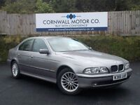 BMW 5 SERIES 2.5 523I SE 4d AUTO 168 BHP 1 PRIVATE OWNER + FSH (silver) 2000