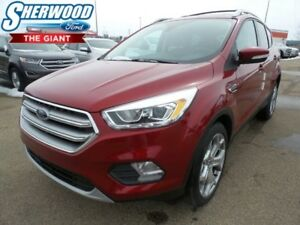 2017 Ford Escape Titanium w/ Moonroof, Navigation, Tow Package