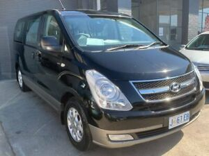 2014 Hyundai iMAX TQ-W MY15 Black 4 Speed Automatic Wagon North Hobart Hobart City Preview