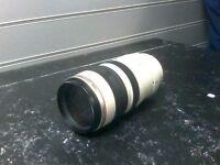 Ultrasonic Canon lens