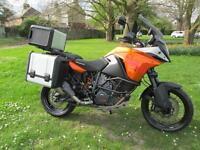 KTM 1190 ADVENTURE 14 TOURING MOTORCYCLE