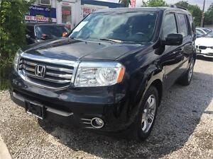 2013 Honda Pilot EX-L|LEATHER|REAR VIEW|ACCIDENT FREE|