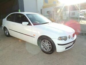 2002 BMW 316TI E46/5 White 5 Speed Manual Hatchback Yeerongpilly Brisbane South West Preview