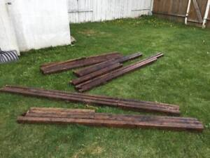 Landscape Timber in Various Sizes