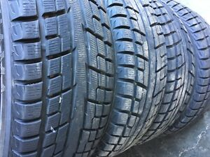 4 winter tires YOKOHAMA  235/65r18