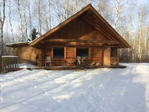 26' x 26' Log Cabin To Be Moved