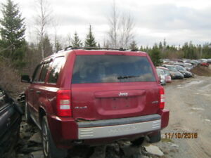 Parting out Jeep Patriot 2007