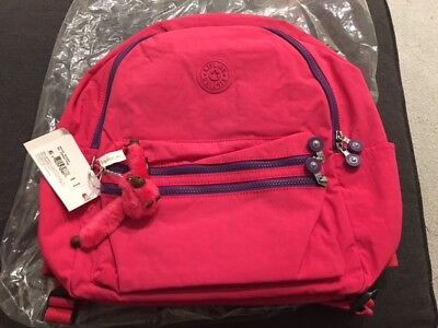 NWT Kipling Bouree Backpack Vibrant Pink Original Price $104