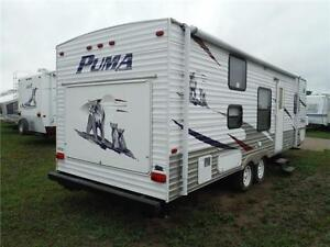 2008 Puma 27FQ Travel Trailer with Bunkbeds- Sleeps up to 9 Stratford Kitchener Area image 3