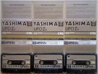 A2Z JL YASHIMA TDK UFO Is ULTRA FERRIC OXIDE 90 CASSETTE TAPES 1979-80 FURTHER REDUCED JOB LOTS/SOLO