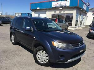MITSUBISHI OUTLANDER 2007 XLS 7 PASSAGERS/CUIR/TOIT/MAGS/FULL!