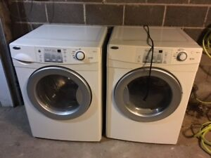 Amana Front Load Washer & Natural Gas Dryer