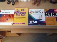 Books - Web Design X 4